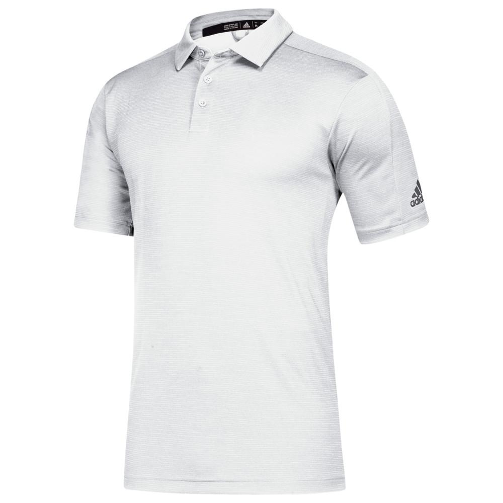 アディダス adidas メンズ フィットネス・トレーニング トップス【Team Game Mode Polo】White/Grey Five