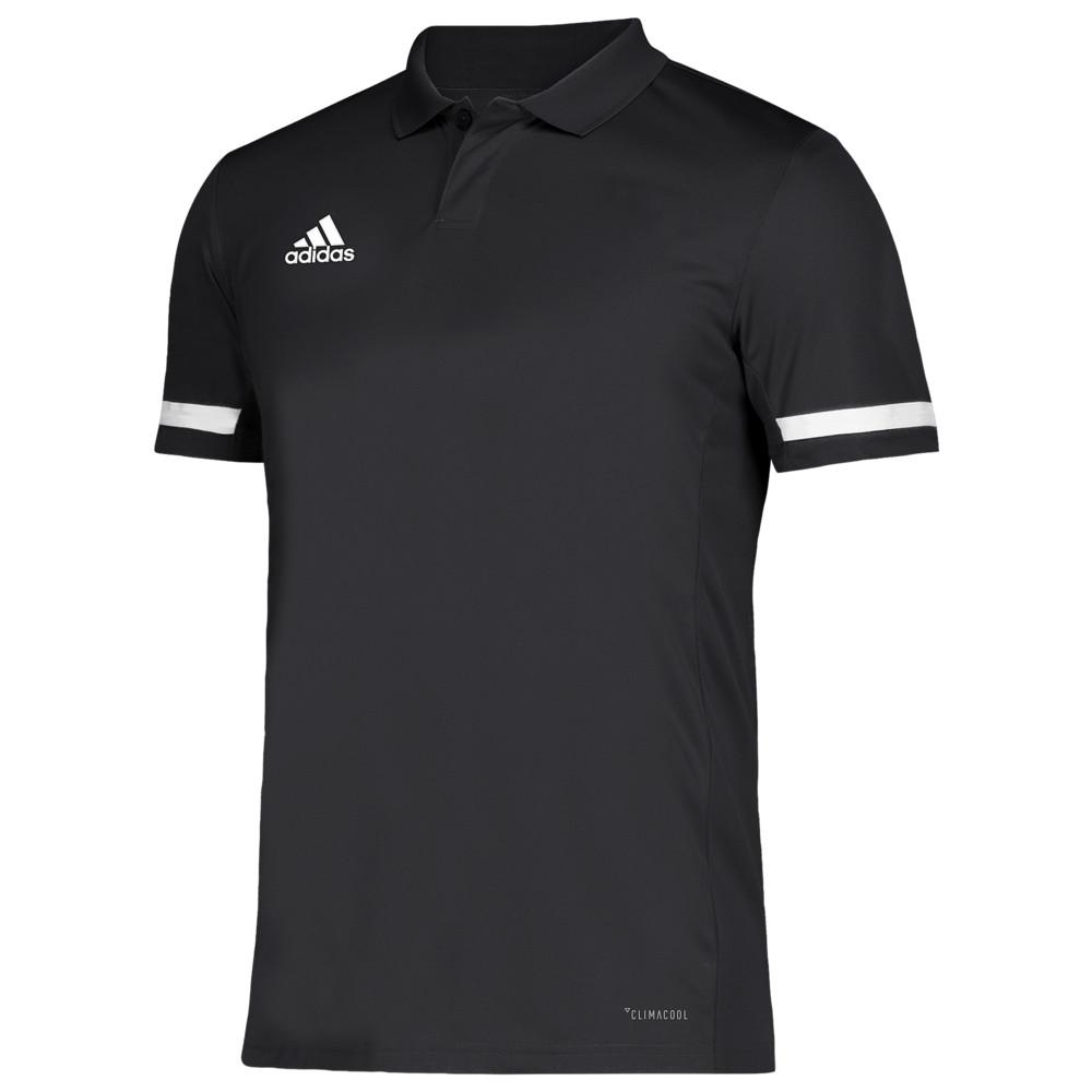 アディダス adidas メンズ フィットネス・トレーニング トップス【Team 19 Polo】Black/White