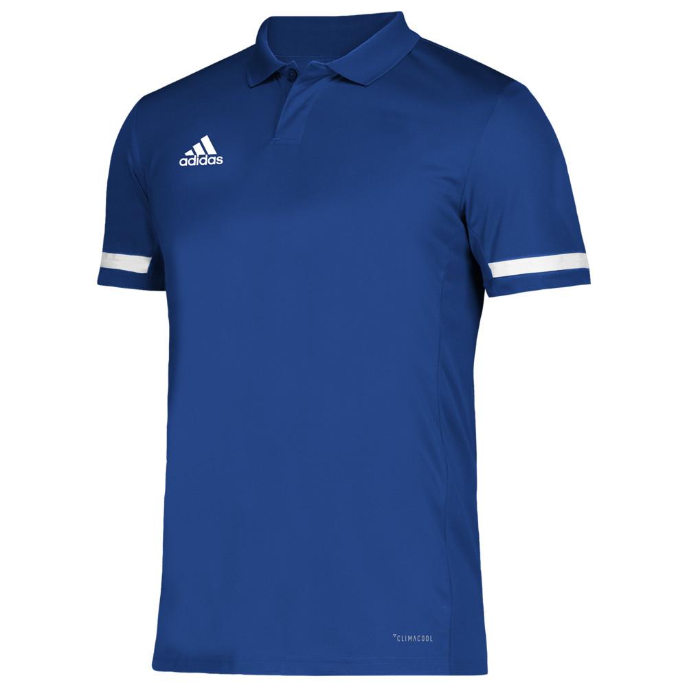 アディダス adidas メンズ フィットネス・トレーニング トップス【Team 19 Polo】Team Royal/White
