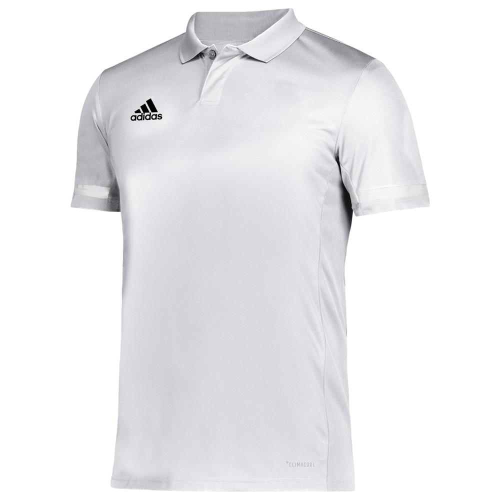 アディダス adidas メンズ フィットネス・トレーニング トップス【Team 19 Polo】White/Black