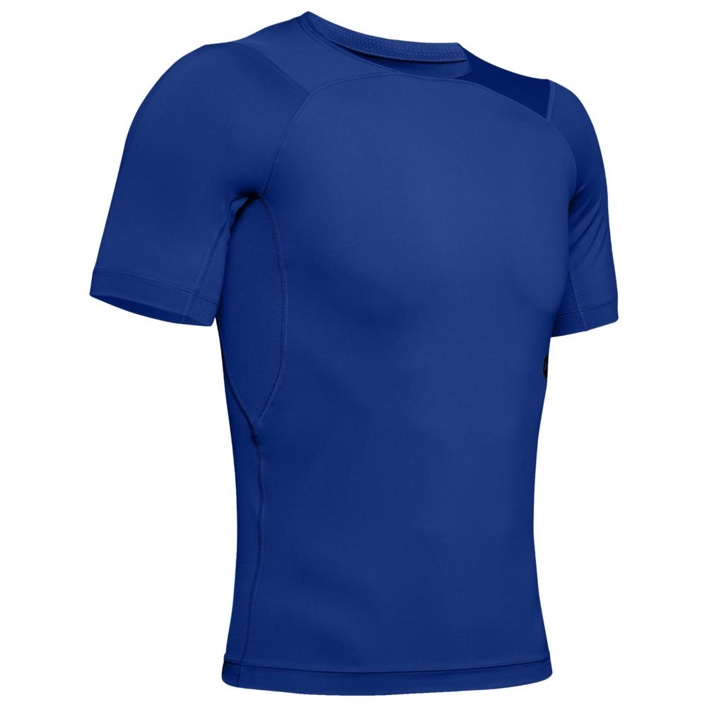 アンダーアーマー Under Armour メンズ フィットネス・トレーニング Tシャツ トップス【Rush Compression T-Shirt】Royal/Black