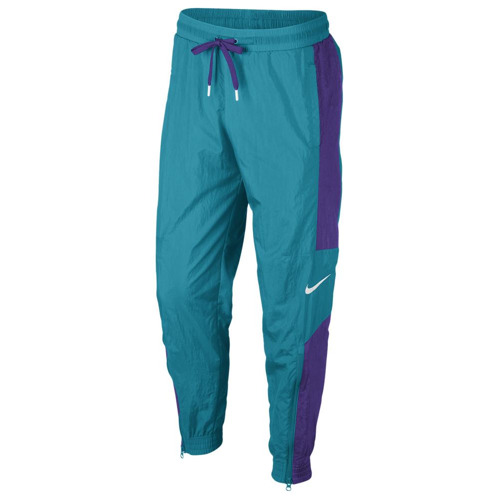 ナイキ Nike メンズ バスケットボール ボトムス・パンツ【Woven Pants】Rapid Teal/Field Purple/White