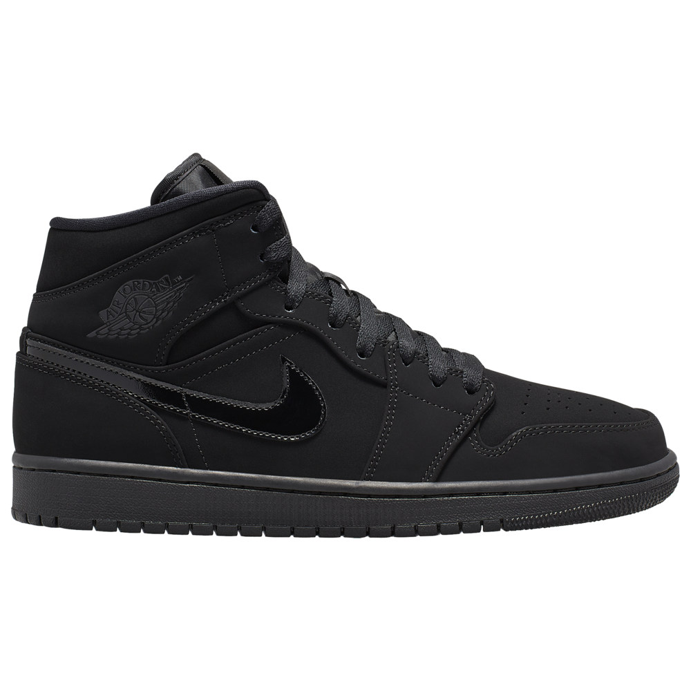 ナイキ ジョーダン Jordan メンズ バスケットボール シューズ・靴【AJ 1 Mid】Black/Black/Black