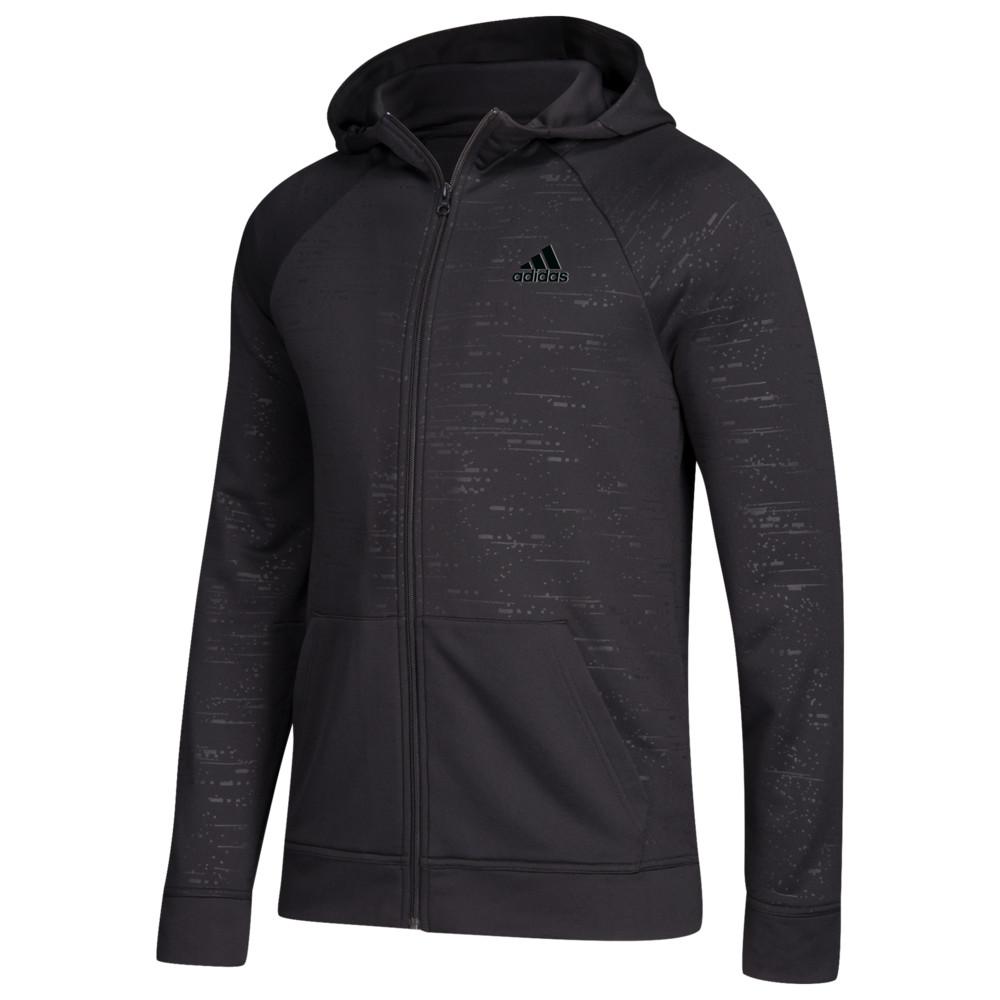 アディダス adidas メンズ フィットネス・トレーニング パーカー トップス【Team Electric Full-Zip Hoodie】Black