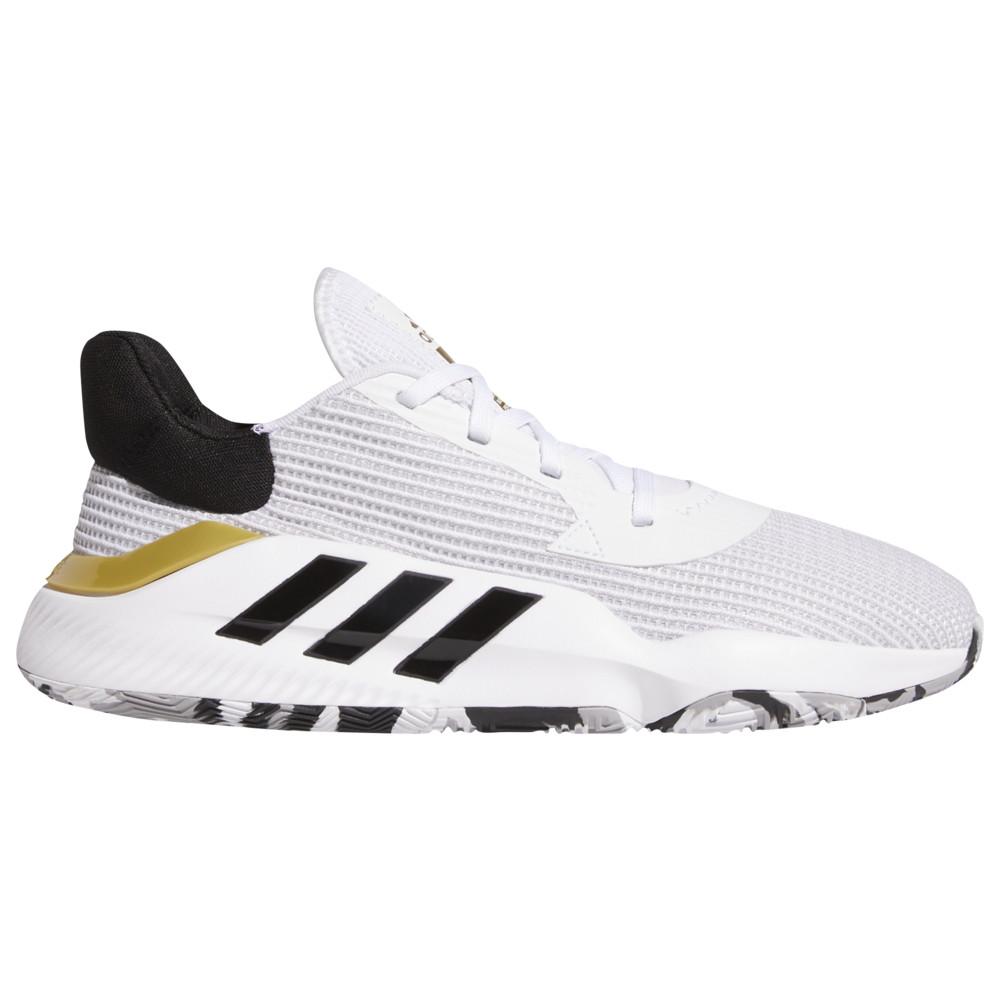 アディダス adidas メンズ バスケットボール シューズ・靴【Pro Bounce Low】White/Black/Gold Metallic