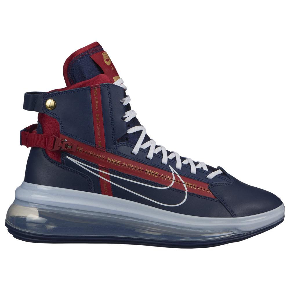 ナイキ Nike メンズ バスケットボール エアマックス 720 シューズ・靴【Air Max 720 SATRN】Midnight Navy/White/Gym Red