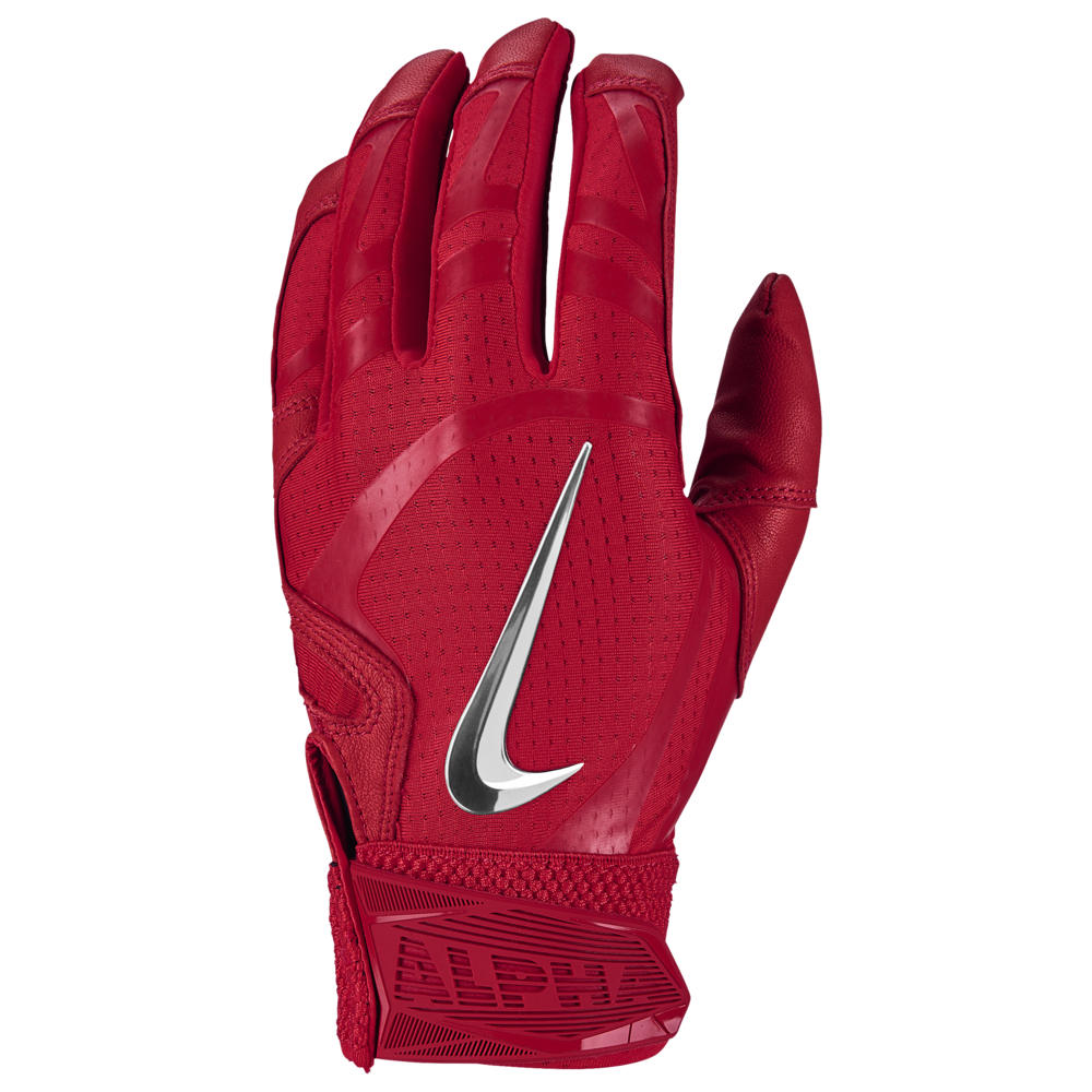ナイキ Nike メンズ 野球 バッティンググローブ グローブ【Huarache Elite Batting Gloves】University Red/University Red/Chrome