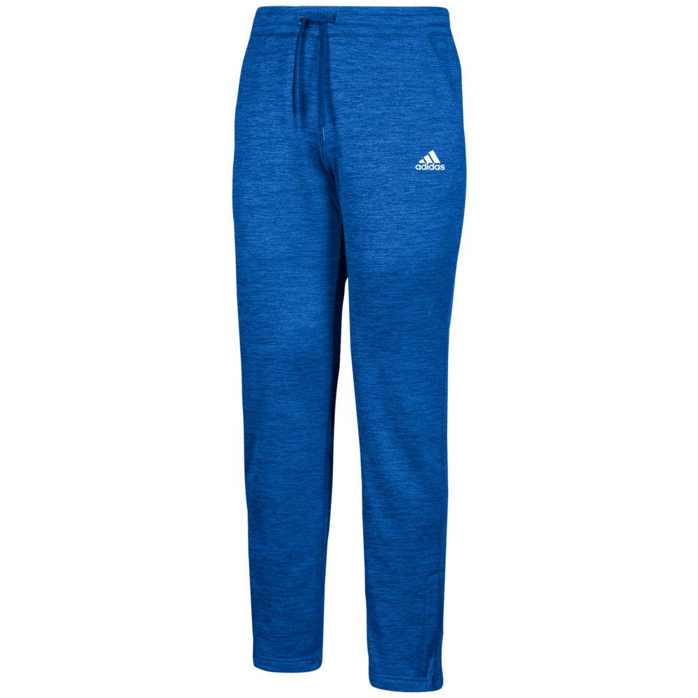 アディダス adidas メンズ フィットネス・トレーニング ボトムス・パンツ【Team Issue Fleece Pants】Collegiate Royal/White