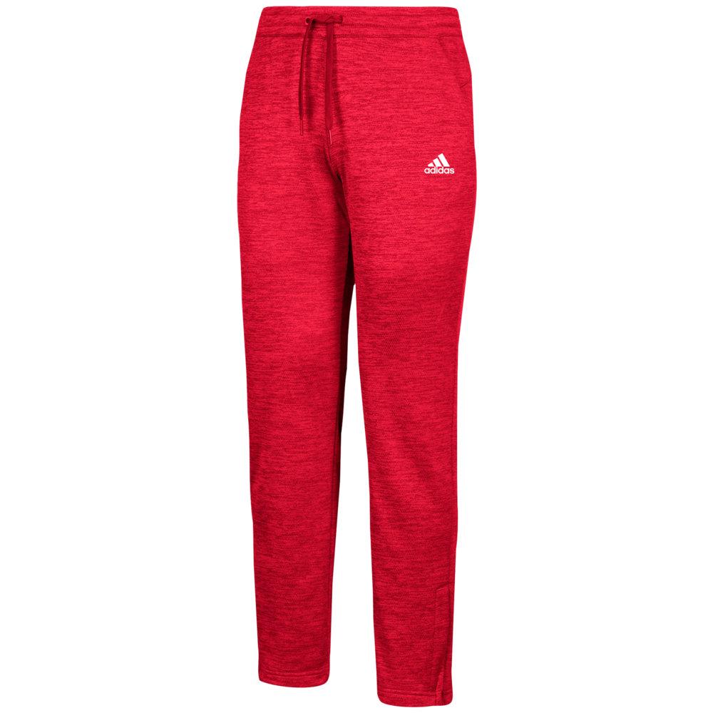 アディダス adidas メンズ フィットネス・トレーニング ボトムス・パンツ【Team Issue Fleece Pants】Power Red/White