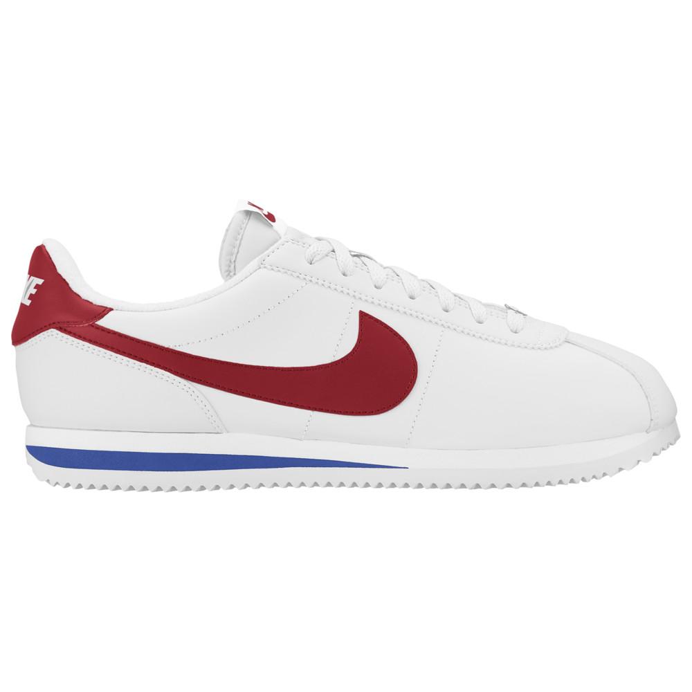 ナイキ Nike メンズ ランニング・ウォーキング シューズ・靴【Cortez】White/Varsity Red/Varsity Royal Leather