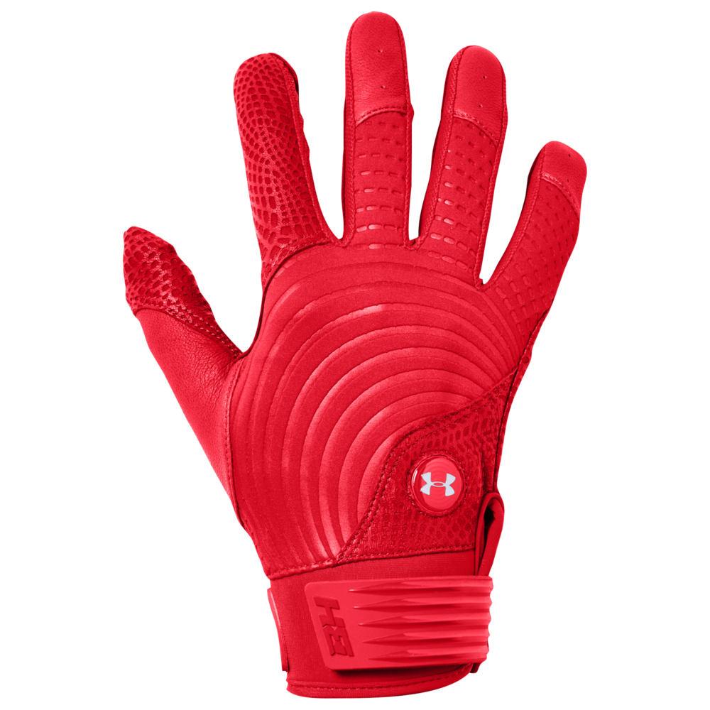 アンダーアーマー Under Armour メンズ 野球 グローブ【Harper Pro 19】Red/Red