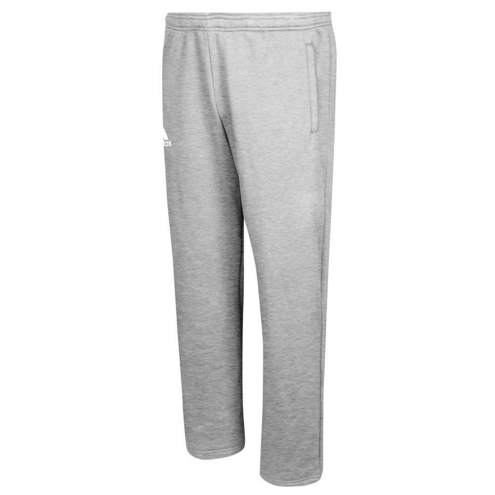 アディダス adidas メンズ フィットネス・トレーニング ボトムス・パンツ【Team Fleece Pants】Medium Grey Heather/White