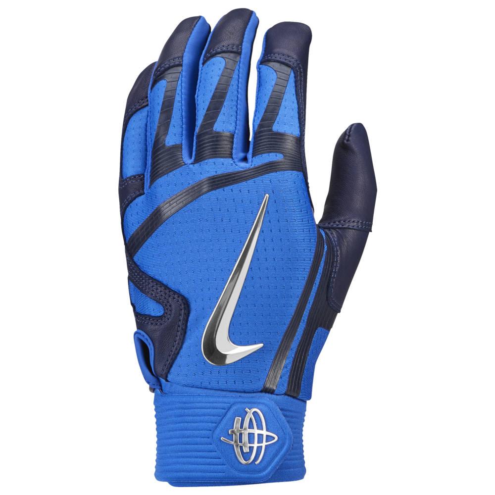 ナイキ Nike メンズ 野球 バッティンググローブ グローブ【Huarache Elite Batting Gloves】Game Royal/College Navy/Chrome