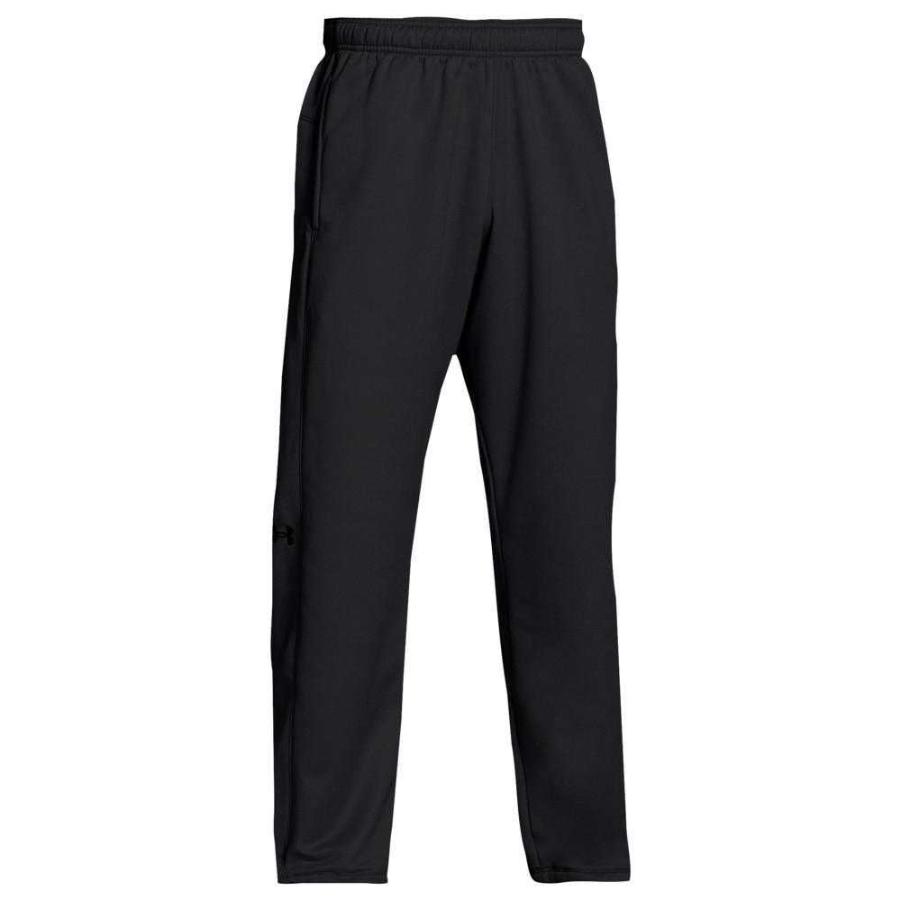 アンダーアーマー Under Armour メンズ フィットネス・トレーニング ボトムス・パンツ【Team Double Threat Fleece Pants】Black/Steel