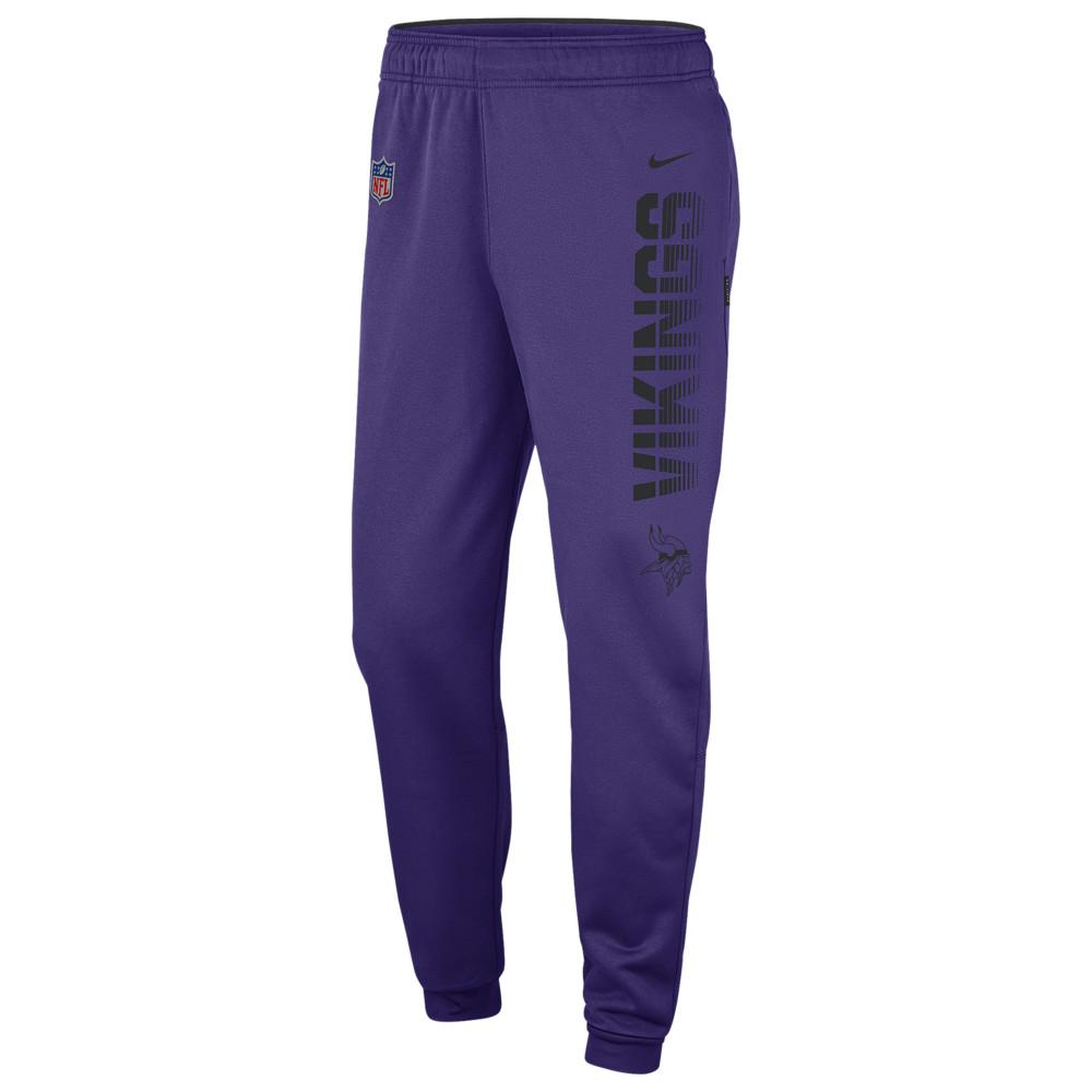 ナイキ Nike メンズ ボトムス・パンツ 【NFL Therma Pants】NFL Minnesota Vikings Court Purple