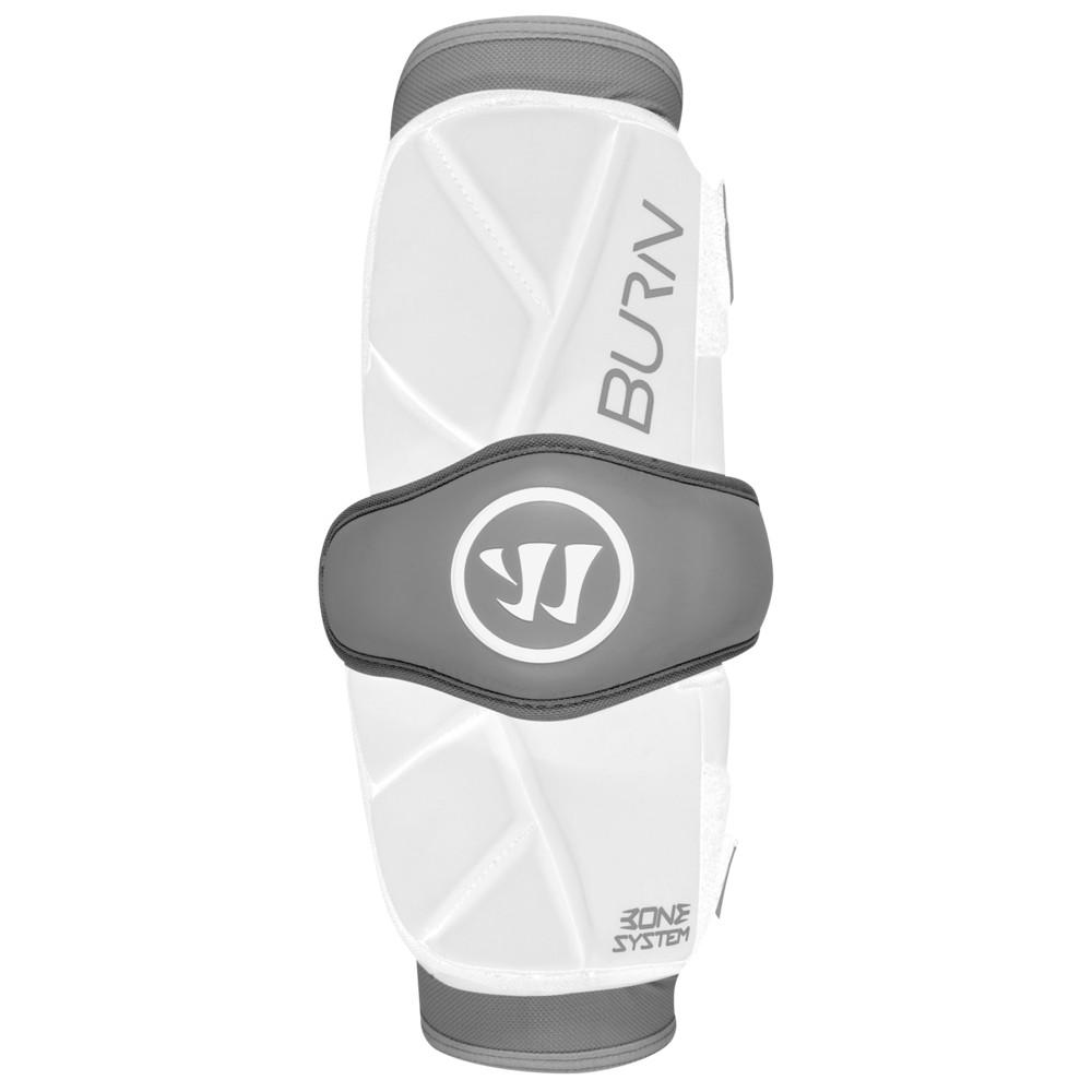 ウォーリアー Warrior メンズ ラクロス アームパッド プロテクター【Burn Arm Pad】White