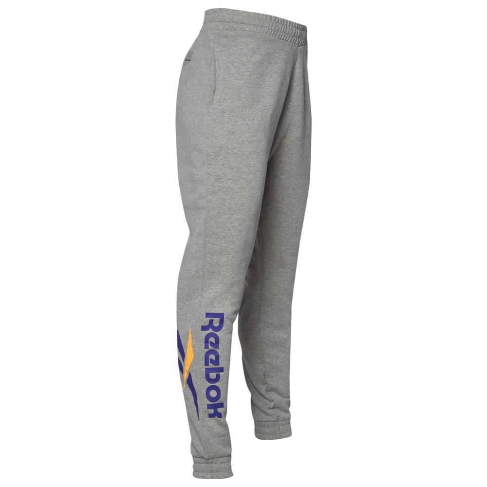 リーボック Reebok メンズ ジョガーパンツ ボトムス・パンツ【Vector Jogger Pants】Medium Grey Heather