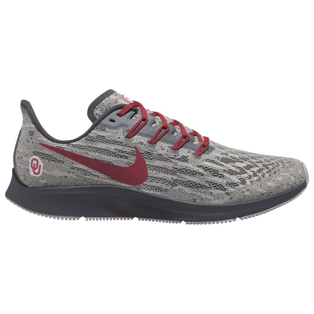 ナイキ Nike メンズ ランニング・ウォーキング エアズーム シューズ・靴【Air Zoom Pegasus 36 NCAA】NCAA Oklahoma Sooners Pewter Grey/Team Crimson/Anthracite