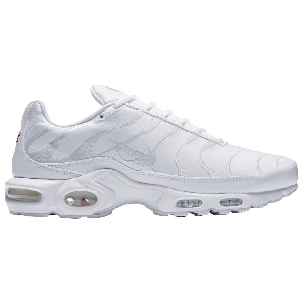 ナイキ Nike メンズ ランニング・ウォーキング シューズ・靴【Air Max Plus】White/White/White