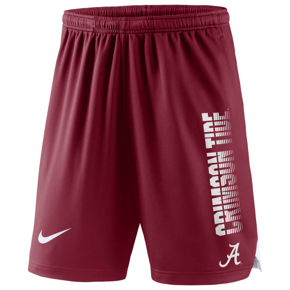 ナイキ Nike メンズ ショートパンツ ボトムス・パンツ【College Knit Player Shorts】NCAA Alabama Crimson Tide Team Crimson