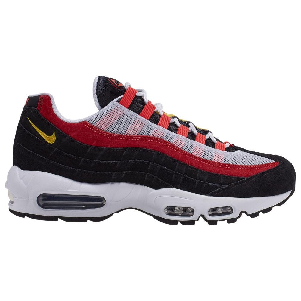 ナイキ Nike メンズ ランニング・ウォーキング シューズ・靴【Air Max 95】White/Chrome Yellow/Black/Crimson