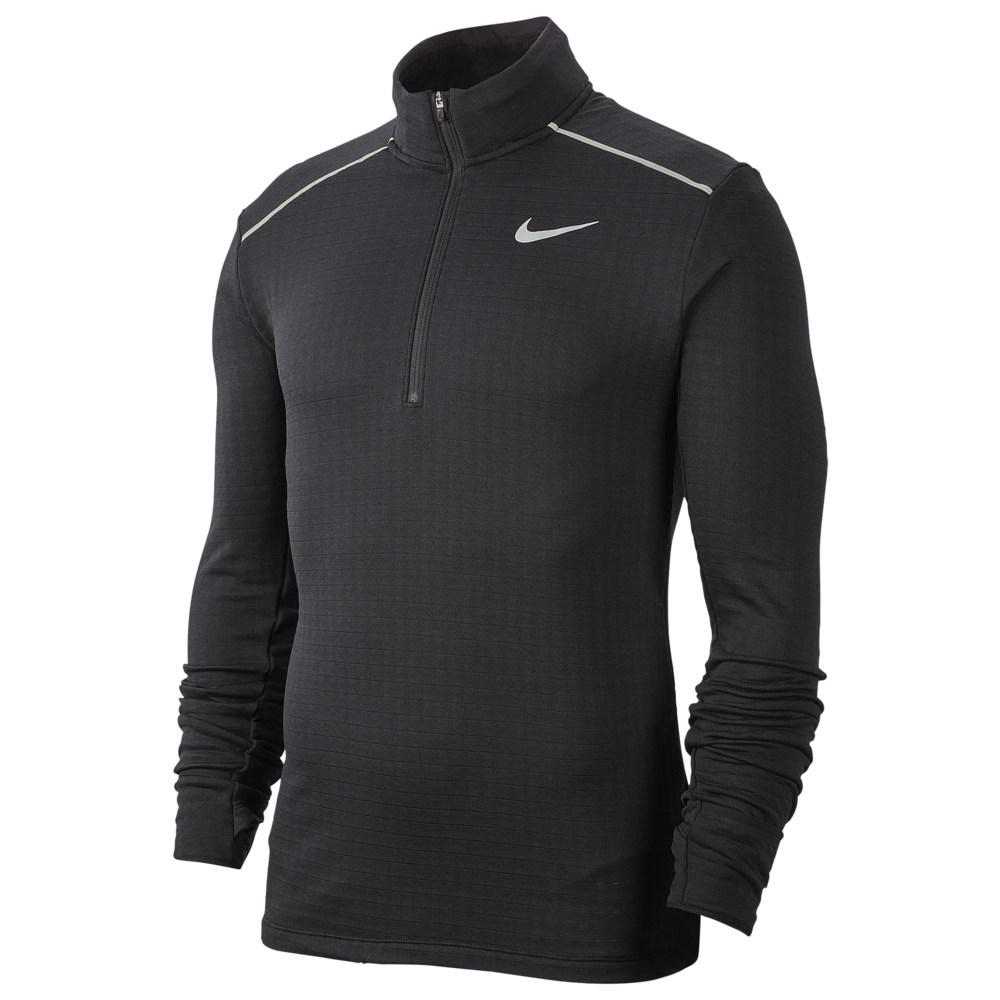 ナイキ Nike メンズ ランニング・ウォーキング ハーフジップ トップス【Sphere Element 1/2 Zip Top 3.0】Black/Reflective