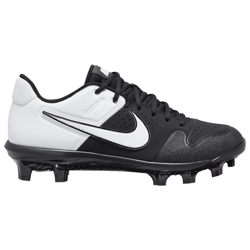 ナイキ Nike メンズ 野球 シューズ・靴【Alpha Huarache Varsity Low MCS】Black/White/Black