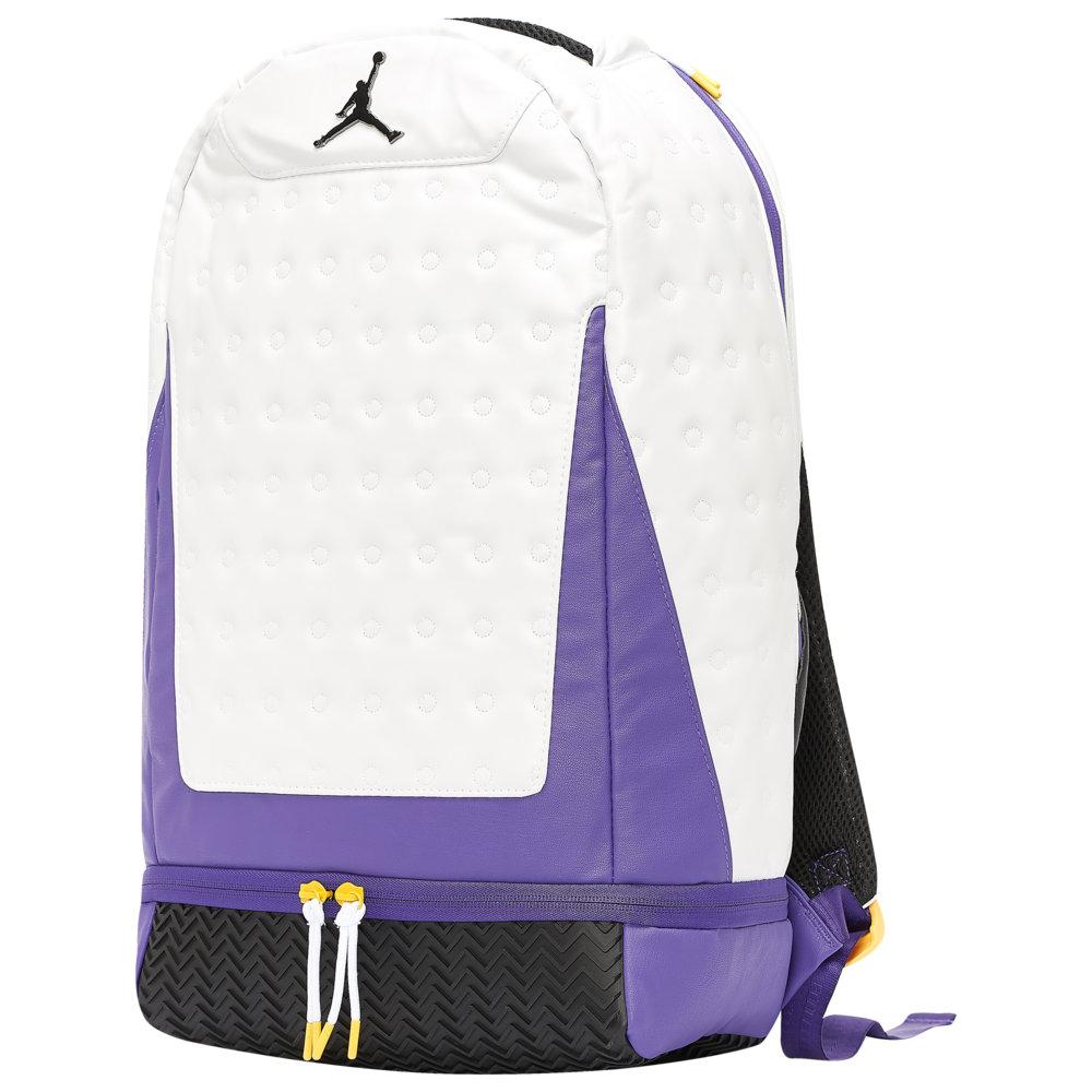 ナイキ ジョーダン Jordan ユニセックス バスケットボール バックパック・リュック【Retro 13 Backpack】Court Purple/White/University Gold