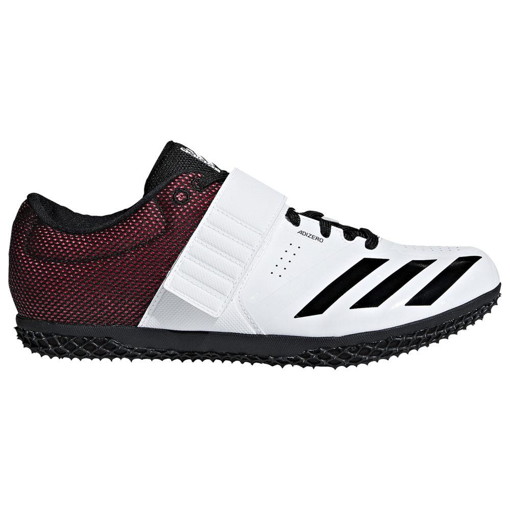 アディダス adidas メンズ 陸上 シューズ・靴【adiZero HJ】White/Core Black/Shock Red