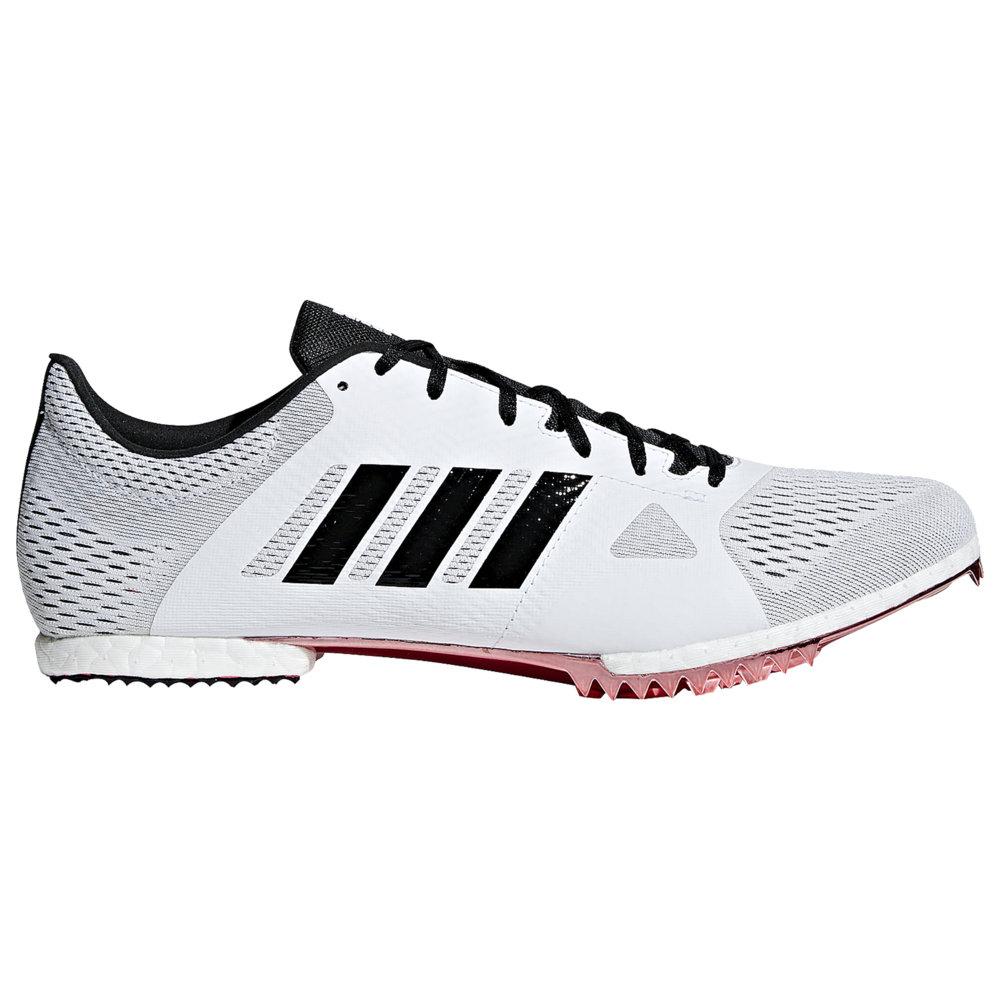 アディダス adidas メンズ 陸上 シューズ・靴【adiZero MD】White/Core Black/Shock Red