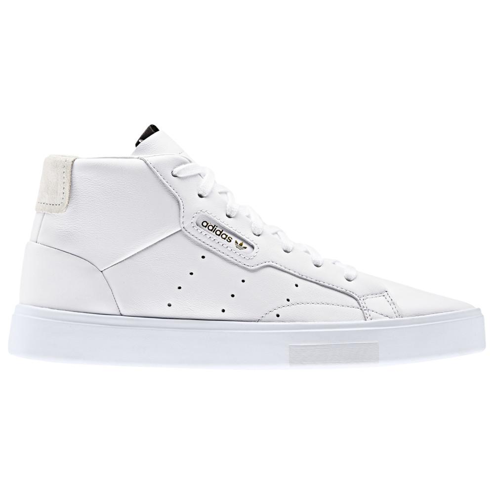 アディダス adidas Originals レディース スニーカー シューズ・靴【Sleek Mid】White/White/Crystal White