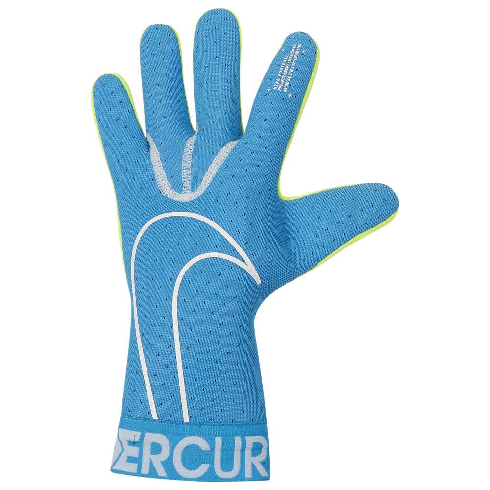 ナイキ Nike ユニセックス サッカー ゴールキーパー グローブ【Mercurial Touch Elite Goalkeeper Gloves】Blue Hero/White