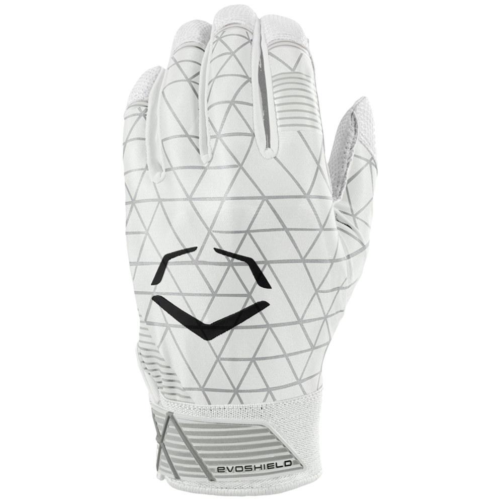 エボシールド Evoshield メンズ 野球 バッティンググローブ グローブ【Evocharge Batting Gloves】White