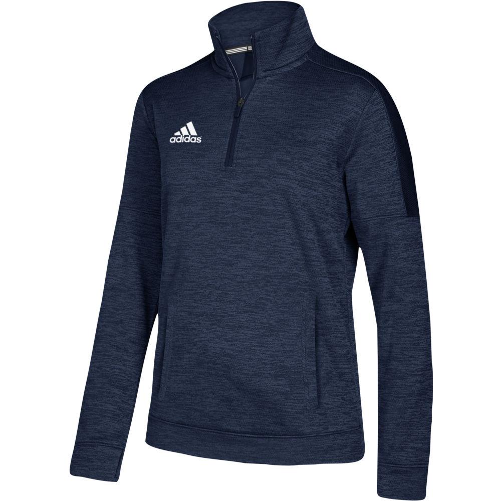 アディダス adidas レディース フィットネス・トレーニング トップス【Team Issue 1/4 Zip】Collegiate Navy