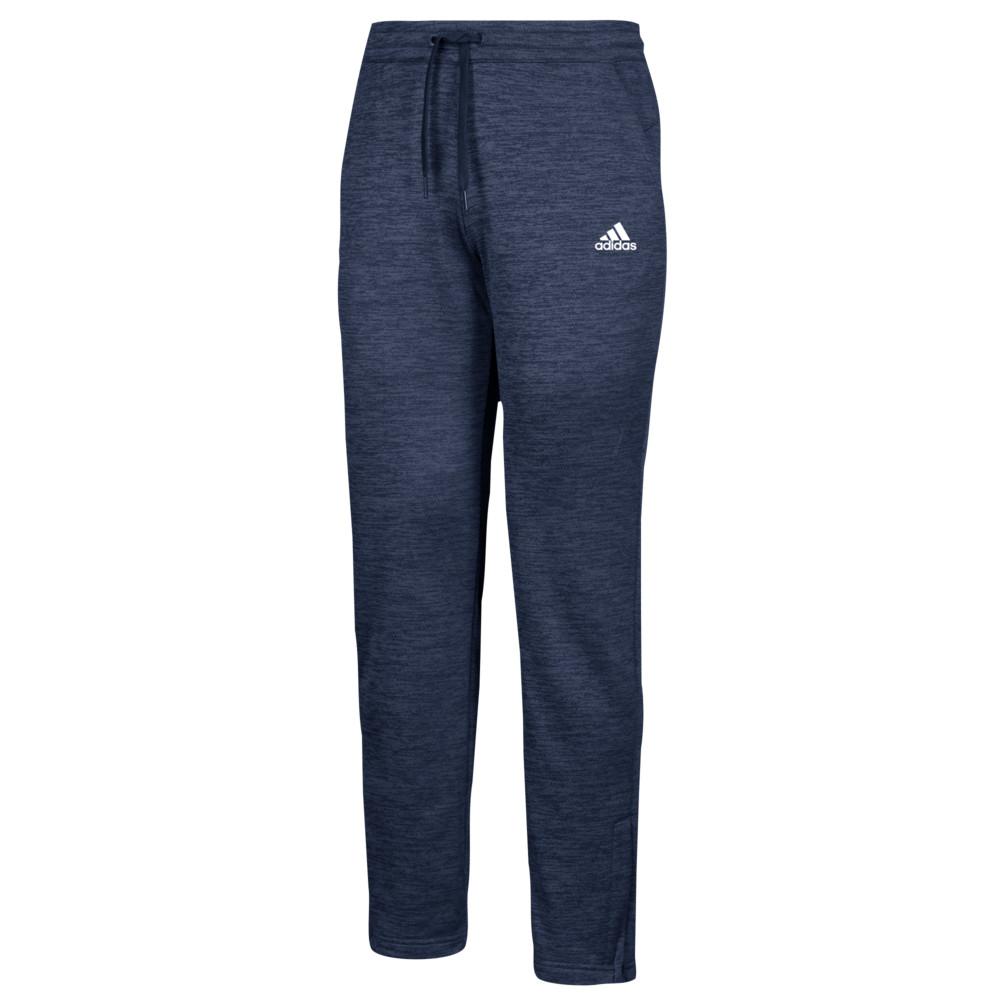 アディダス adidas レディース フィットネス・トレーニング ボトムス・パンツ【Team Issue Fleece Pants】Collegiate Navy/White