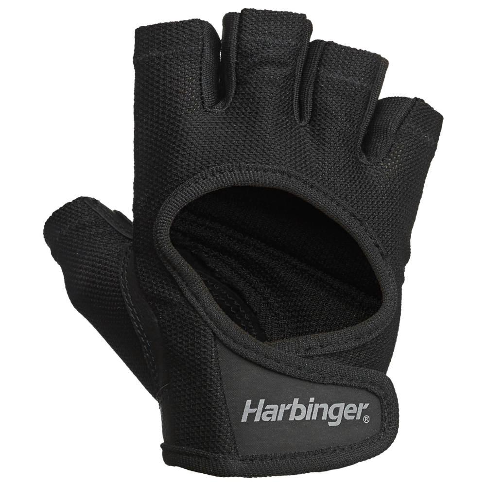 ハービンジャー Harbinger レディース フィットネス・トレーニング グローブ【Power Training Gloves】Black/Black