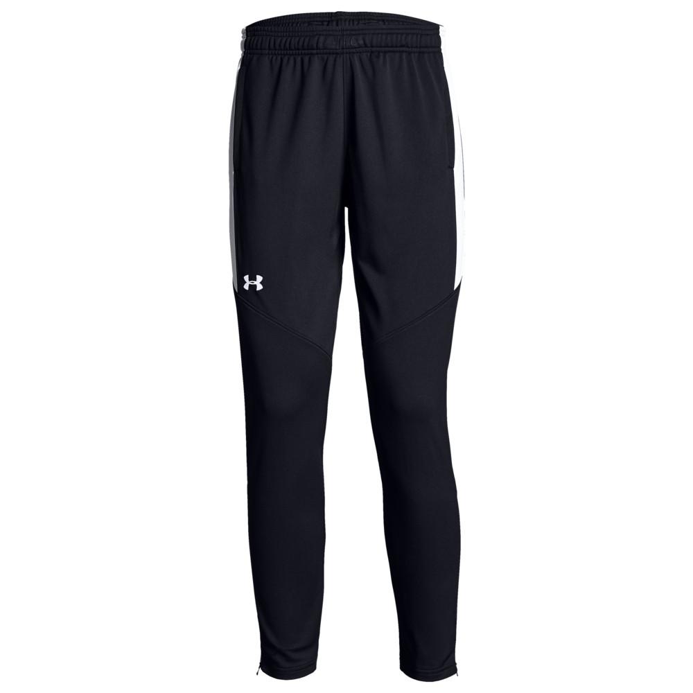 アンダーアーマー Under Armour Team レディース フィットネス・トレーニング ボトムス・パンツ【Team Rival Knit Warm-Up Pants】Black/White