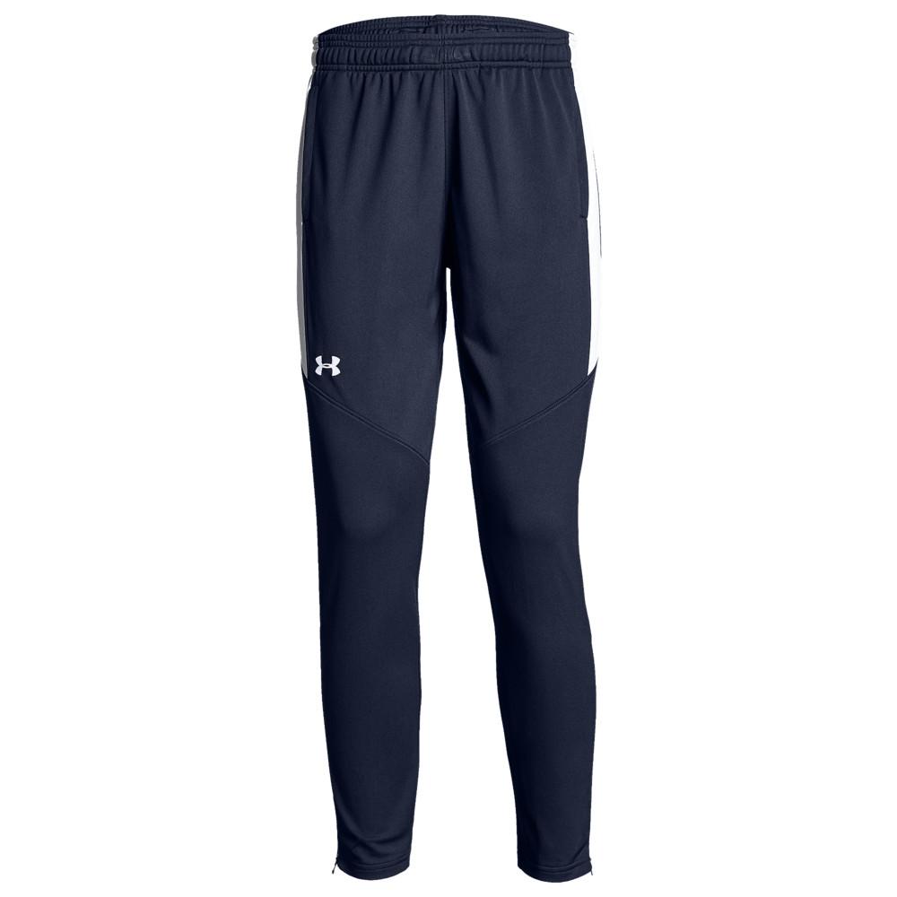 アンダーアーマー Under Armour Team レディース フィットネス・トレーニング ボトムス・パンツ【Team Rival Knit Warm-Up Pants】Midnight/White
