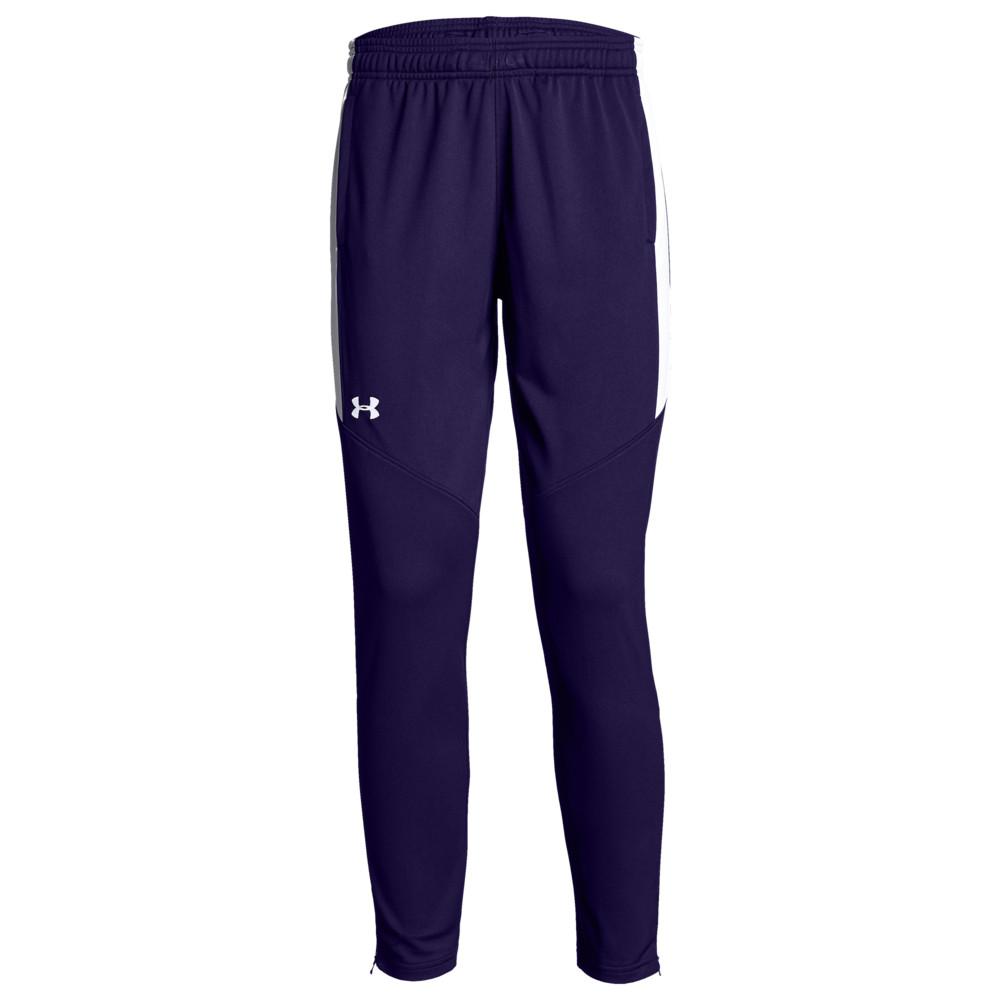 アンダーアーマー Under Armour Team レディース フィットネス・トレーニング ボトムス・パンツ【Team Rival Knit Warm-Up Pants】Purple/White