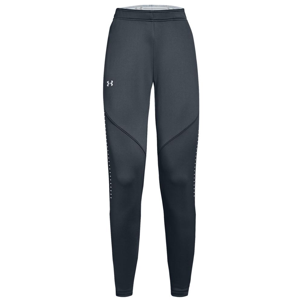 アンダーアーマー Under Armour レディース フィットネス・トレーニング ボトムス・パンツ【Team Qualifier Hybrid Warm-Up Pants】Stealth Grey/White