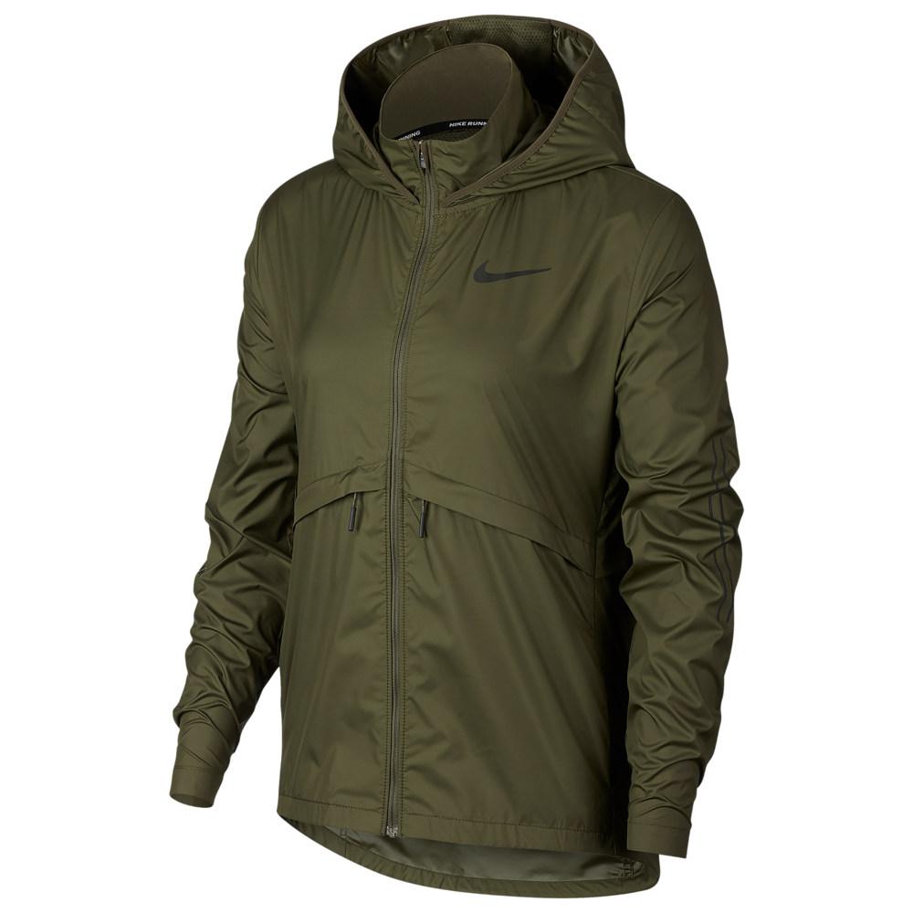 ナイキ Nike レディース フィットネス・トレーニング ジャケット アウター【Essential Jacket】Olive Canvas/Sequoia Flash