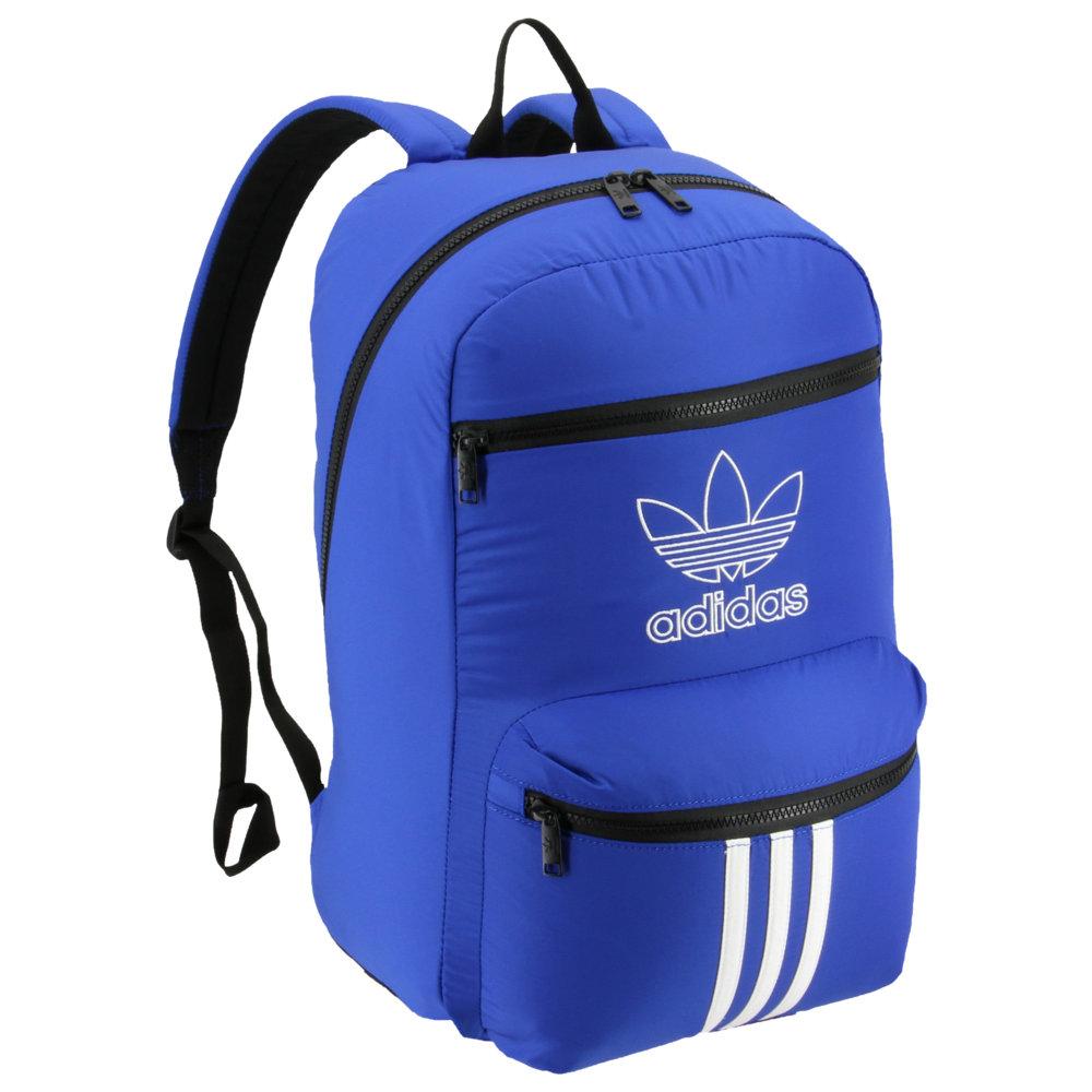 アディダス adidas Originals ユニセックス バックパック・リュック バッグ【National 3-Stripes Backpack】Collegiate Royal
