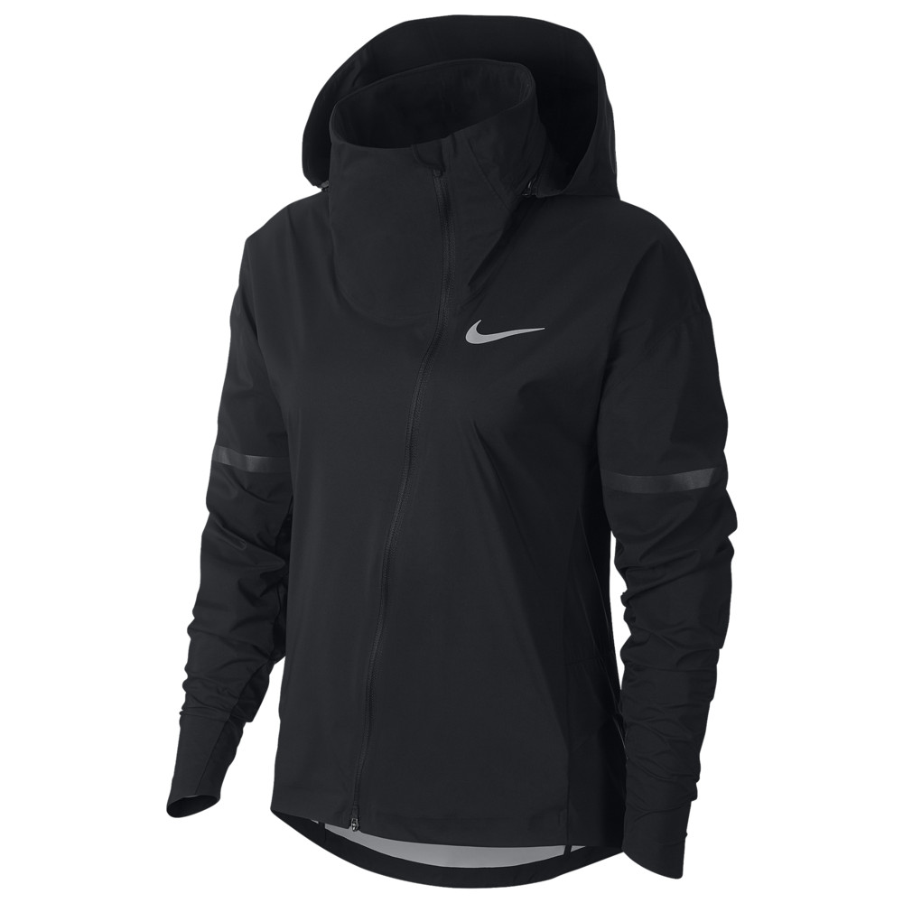 ナイキ Nike レディース フィットネス・トレーニング ジャケット アウター【Zonal Aero Shield HD Jacket】Black/Black/Black Reflective Silver