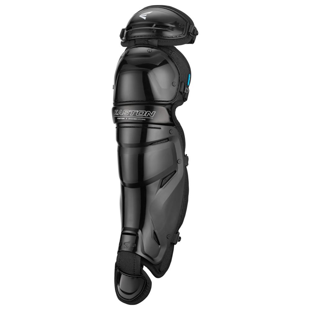 イーストン Easton レディース 野球 レガーズ プロテクター【The Very Best Fastpitch Leg Guard】Black Jen Schro