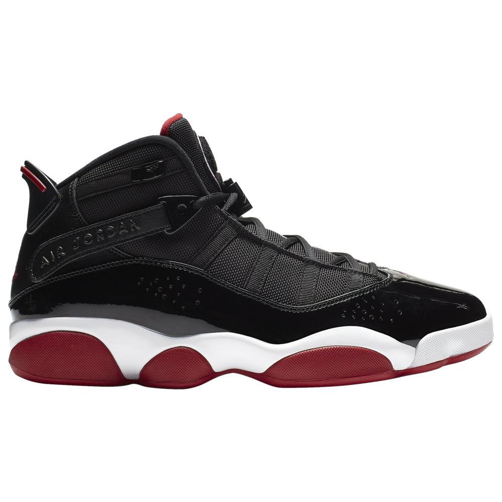 ナイキ ジョーダン Jordan メンズ バスケットボール シューズ・靴【6 Rings】Black/Varsity Red/White