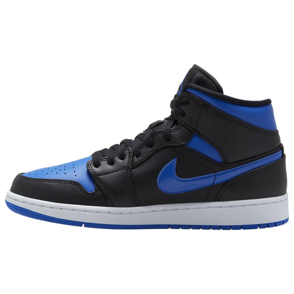 ナイキ ジョーダン Jordan メンズ バスケットボール シューズ・靴【AJ 1 Mid】Black/Hyper Royal/White