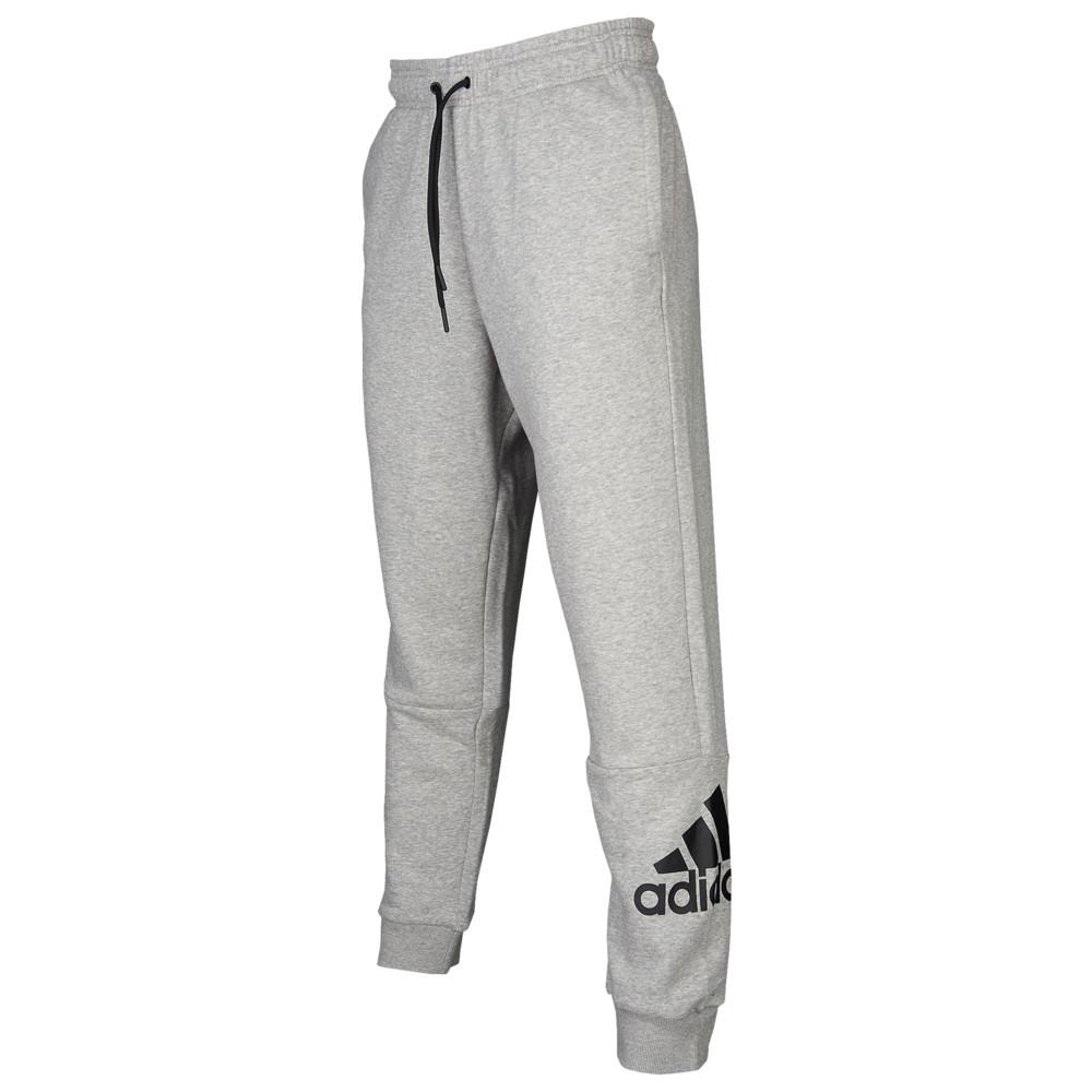 アディダス adidas Athletics メンズ ジョガーパンツ ボトムス・パンツ【Badge Of Sport Jogger】Medium Grey Heather/Black