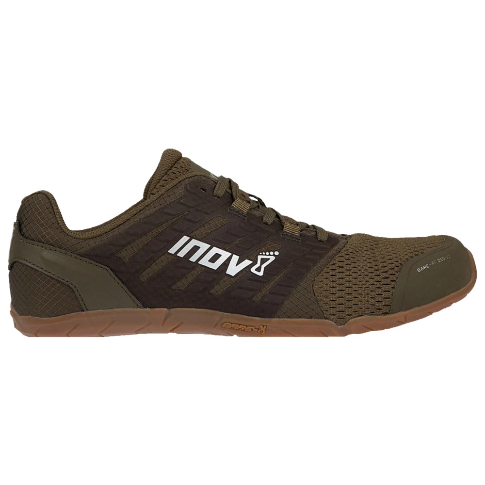 イノヴェイト Inov-8 メンズ フィットネス・トレーニング シューズ・靴【Bare-XF 210 V2】Khaki/Gum