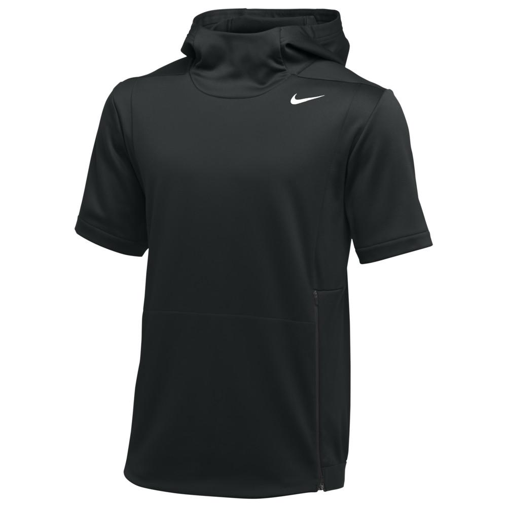 ナイキ Nike メンズ フィットネス・トレーニング トップス【Team Authentic Therma S/S Top】Black/Black/White