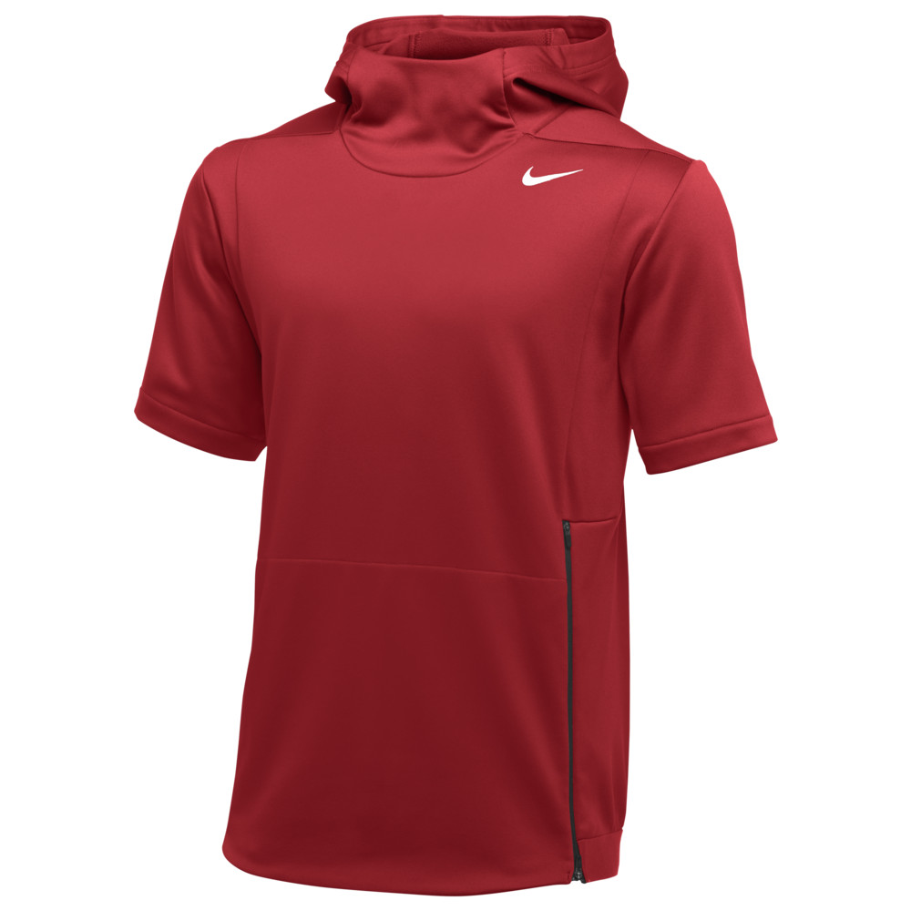 ナイキ Nike メンズ フィットネス・トレーニング トップス【Team Authentic Therma S/S Top】University Red/Black/White